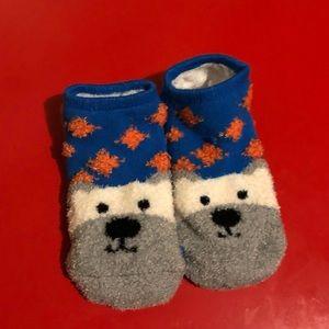 Super cute cozy pair of socks